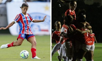 Assista ao vivo Bahia x Internacional Campeonato Brasileiro de futebol feminino