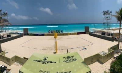 Assista ao vivo- Cancún Hub - Circuito Mundial de vôlei de praia