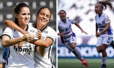 Assista ao vivo Corinthians x Napoli - Campeonato Brasileiro de futebol feminino 2021