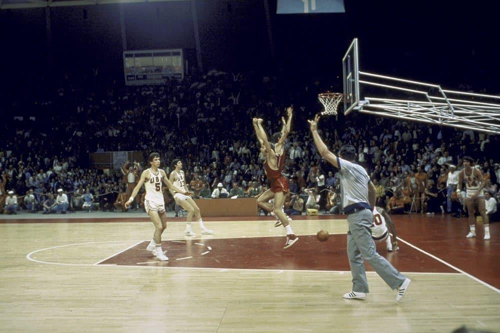 Basquete URSS vence EUA na final de Munique-1972  Reprodução