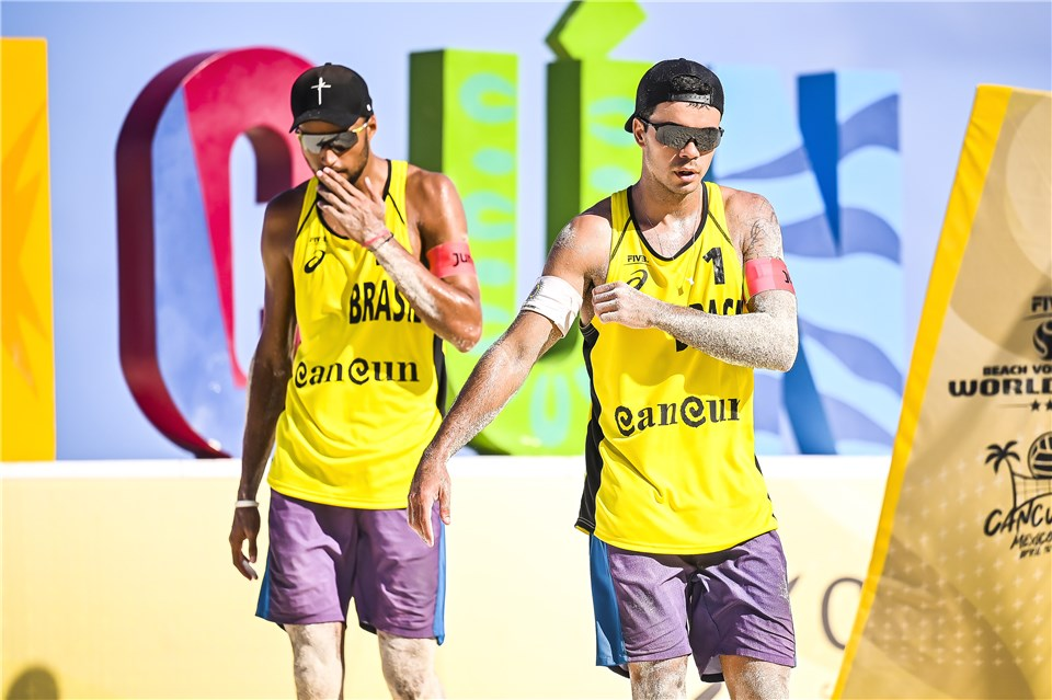 Brasileiros na etapa de Cancún