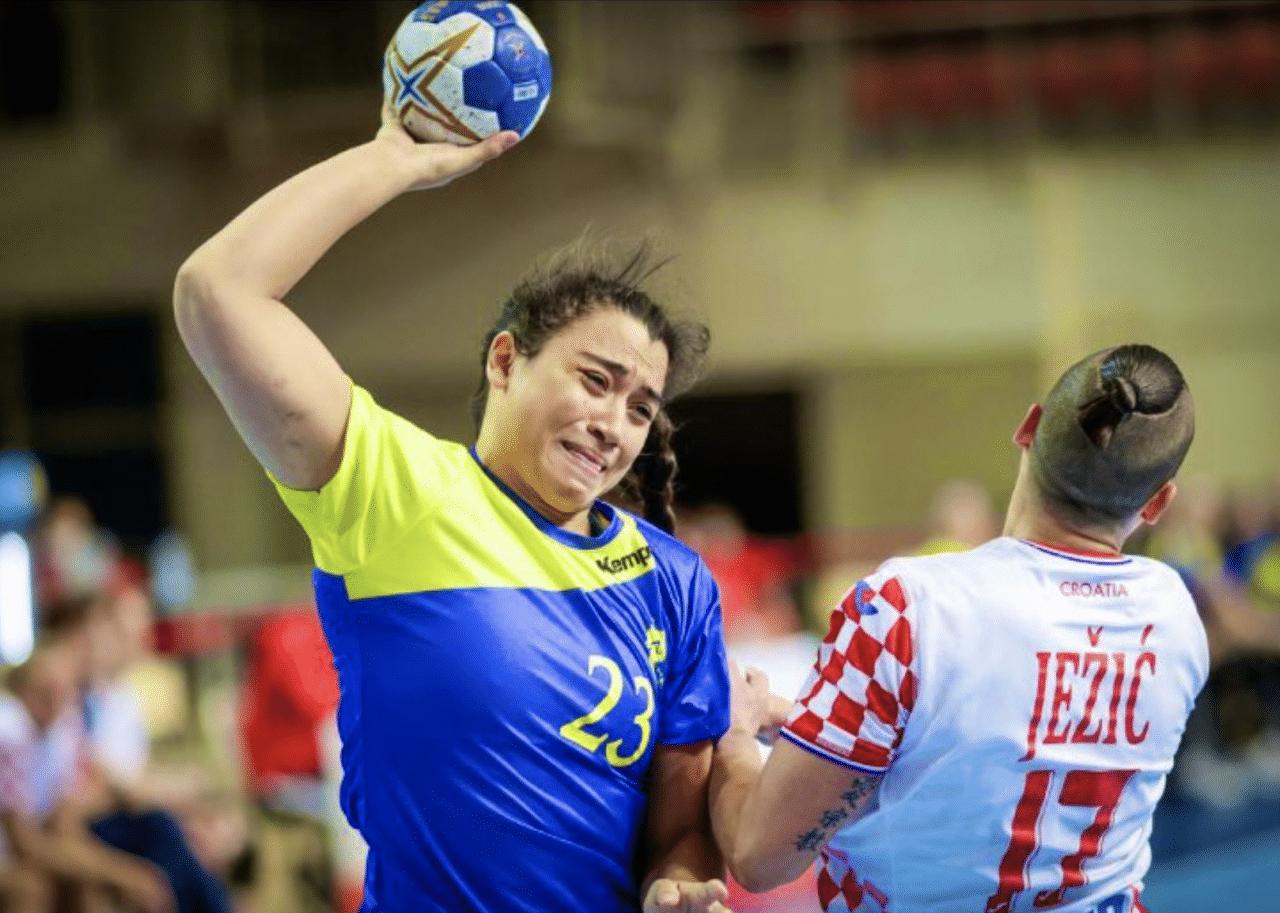 A seleção brasileira de handebol feminino ficou em 2º lugar a HEP Croatia Cup após perder para a anfitriã Croácia por 24 a 21