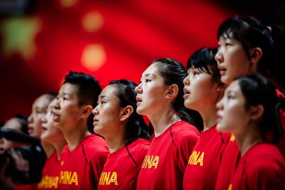 Basquete feminino China