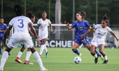 Cruzeiro x São José Brasileiro de futebol feminino