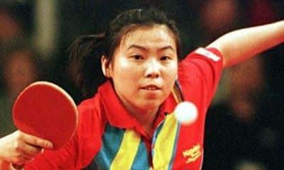 Deng Yaping em ação