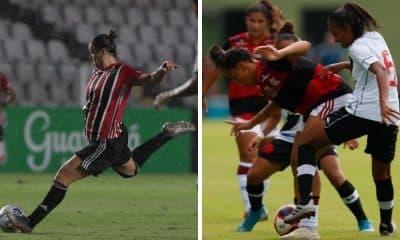 São Paulo x Flamengo - Brasileiro feminino