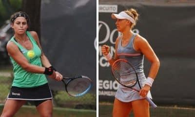 Carolina Meligeni e Bia Haddad semifinal ITF de Cordoba