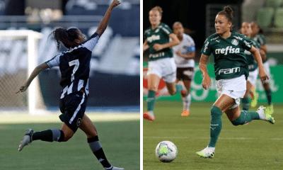 Botafogo x Palmeiras - Brasileiro Feminino