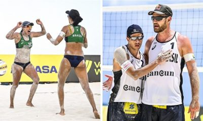 Talita/Taiana e Alison/Álvaro Filho