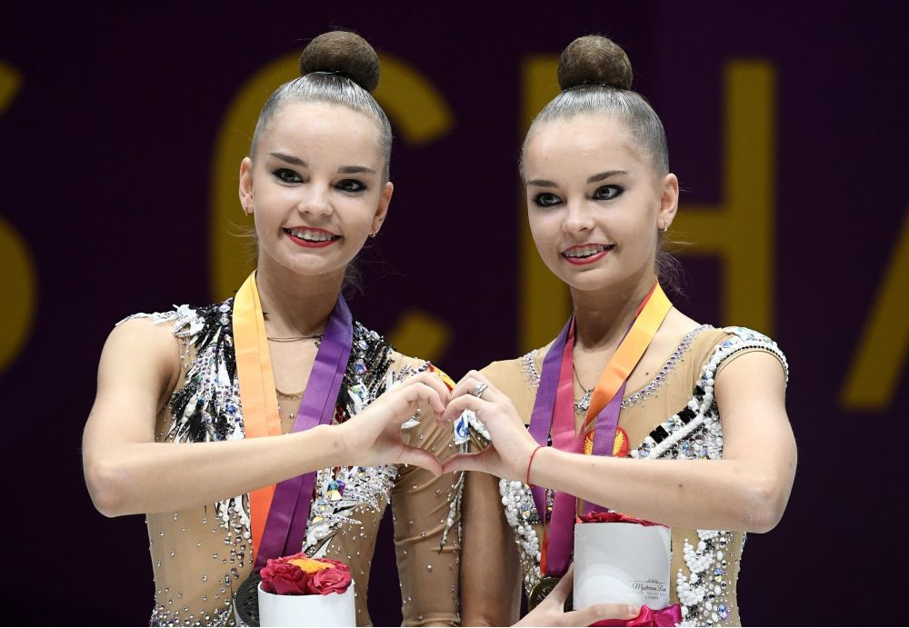 Dina e Arina Averina Ginástica rítmica