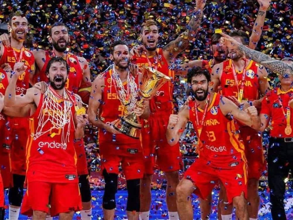Espanha campeã mundial 2019  Instagram/baloncestoesp