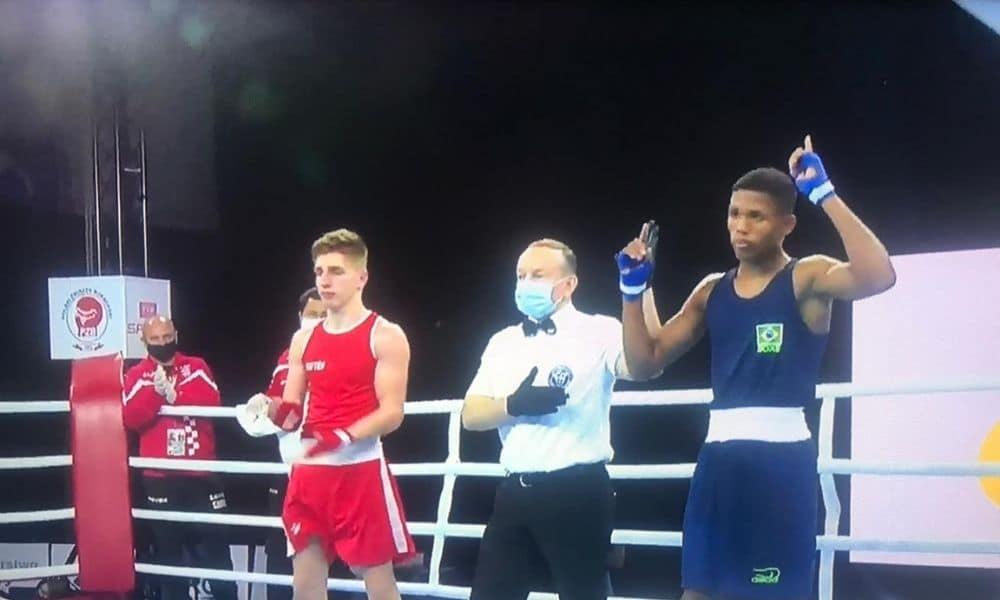 Ezequiel da Cruz Mundial da Juventude de boxe