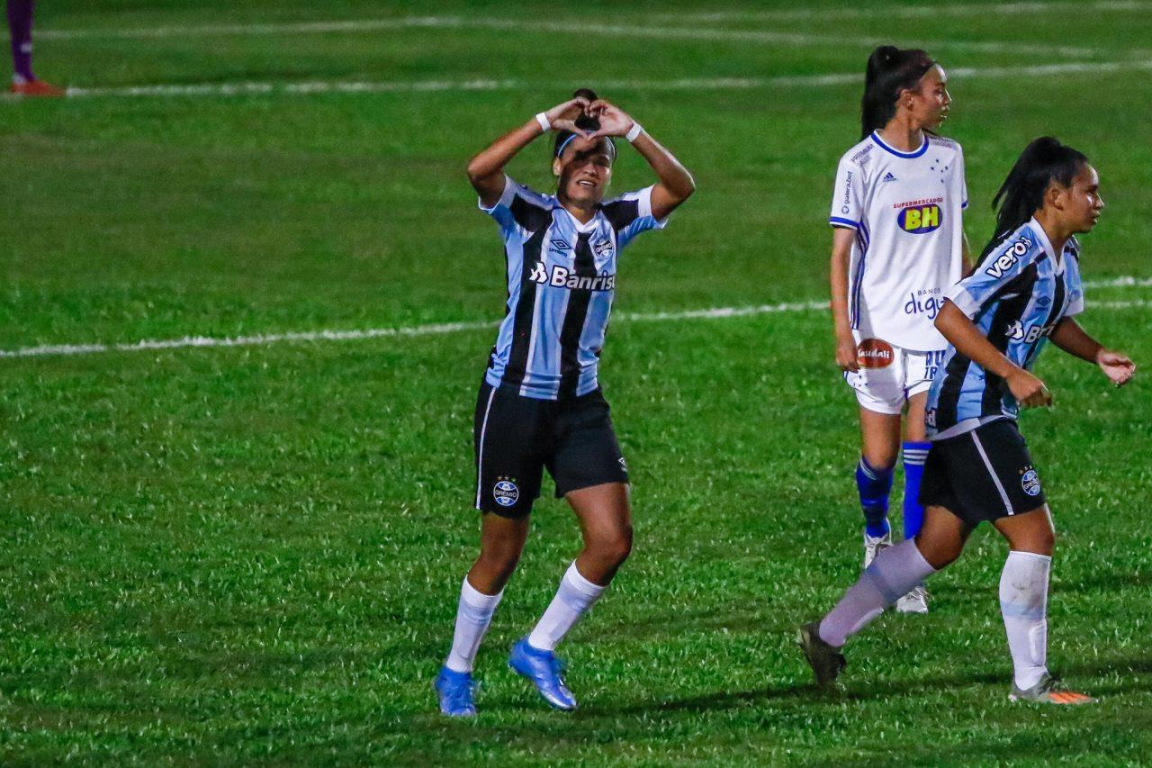 grêmio cruzeiro brasileirão feminino timão líder