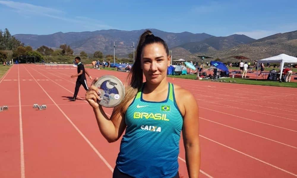 Fernanda Borges lançamento de disco índice para os jogos olímpicos de tóquio