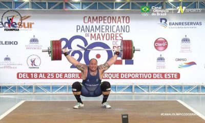 Fernando Reis Campeonato Pan Americano de levantamento de peso