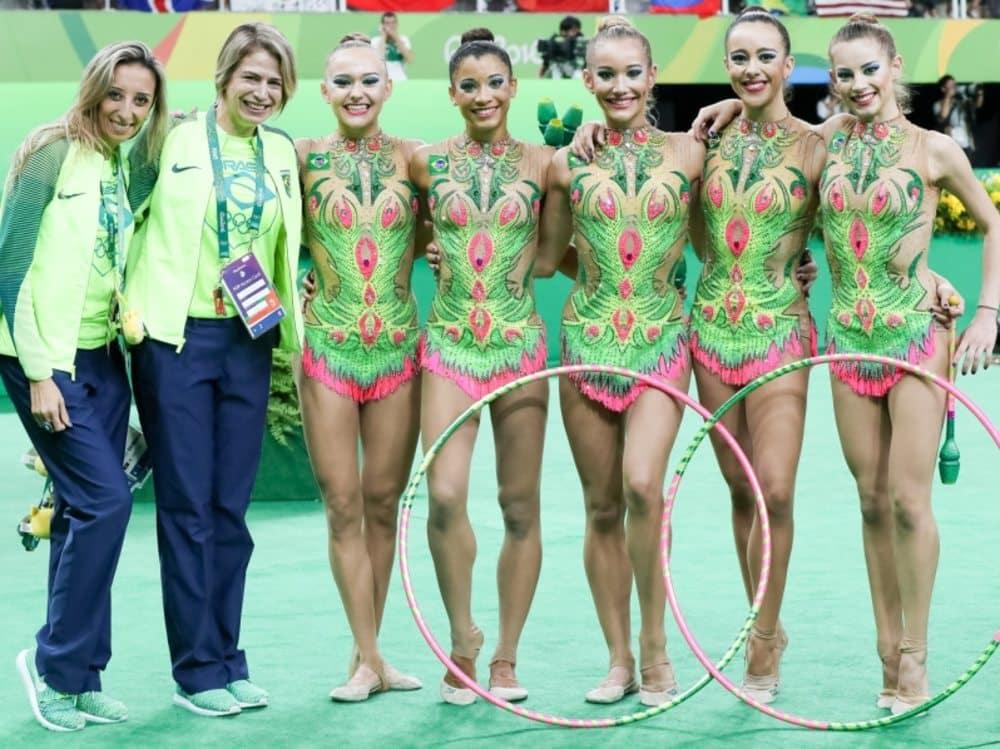 ginástica rítmica Brasil Rio-2016