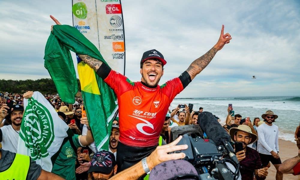 Gabriel Medina camepão Narrabeen Classic Mundial de surfe