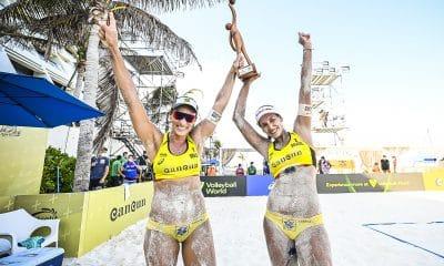 Ágatha e Duda dominam russas e são campeãs da etapa #2 de Cancún