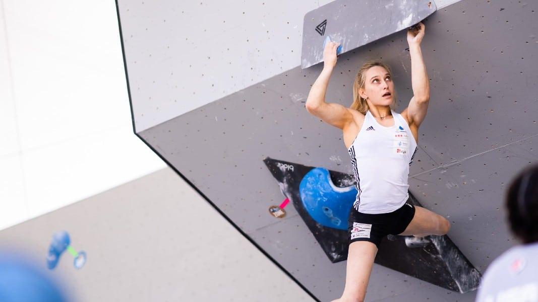 Janja Garnbret escalada esportiva