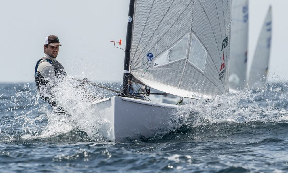 Jorge Zarif Campeonato Europeu da classe Finn