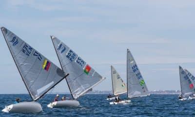 Jorge Zarif campeonato europeu classe finn