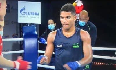 Luiz Nascimento Mundial da juventude de boxe