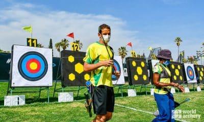 Marcus D'Almeida e Ane Marcelle dos Santos fora da Copa do Mundo de tiro com arco da Guatemala