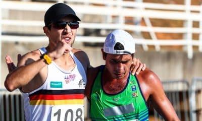 Matheus Corrêa e Caio Bonfim Torneio Cidade de Bragança Paulista de atletismo