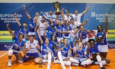 Minas x Praia Clube - Superliga feminina
