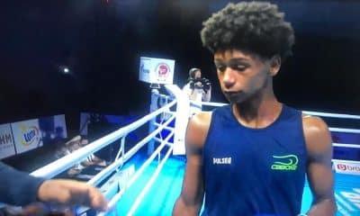 Paulo Capistrano Mundial de juventude de boxe