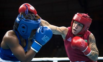 Beatriz FErreira Pré-Olímpico das Américas de boxe