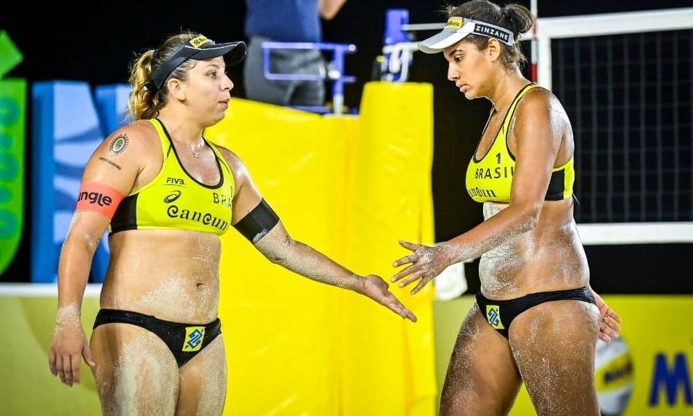 Rebecca e Ana Patrícia Cancún Hub Circuito Mundial de vôlei de praia