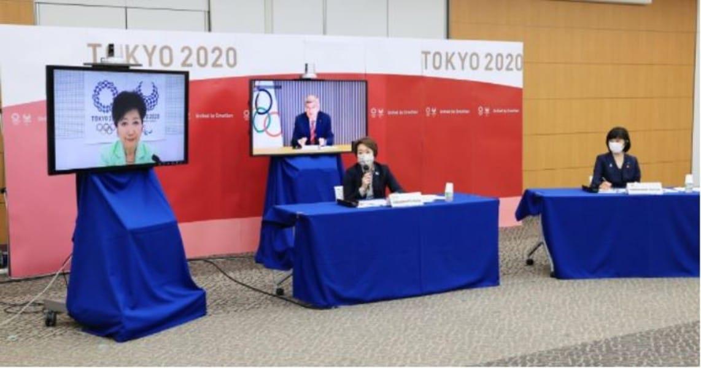 Tóquio 2020 reunião online