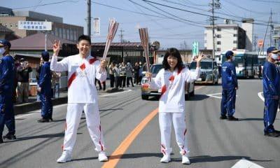 tocha olímpica Tóquio 2020