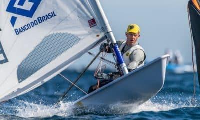 Robert Scheidt laser vilamoura vice líder regata da medalha
