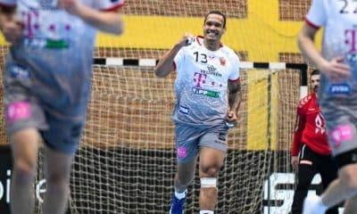 Rogério Moraes Champions league de handebol masculino golaço da primeira rodada das oitavas da champions league