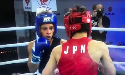 Ronald Ribeiro Mundial da Juventude de boxe