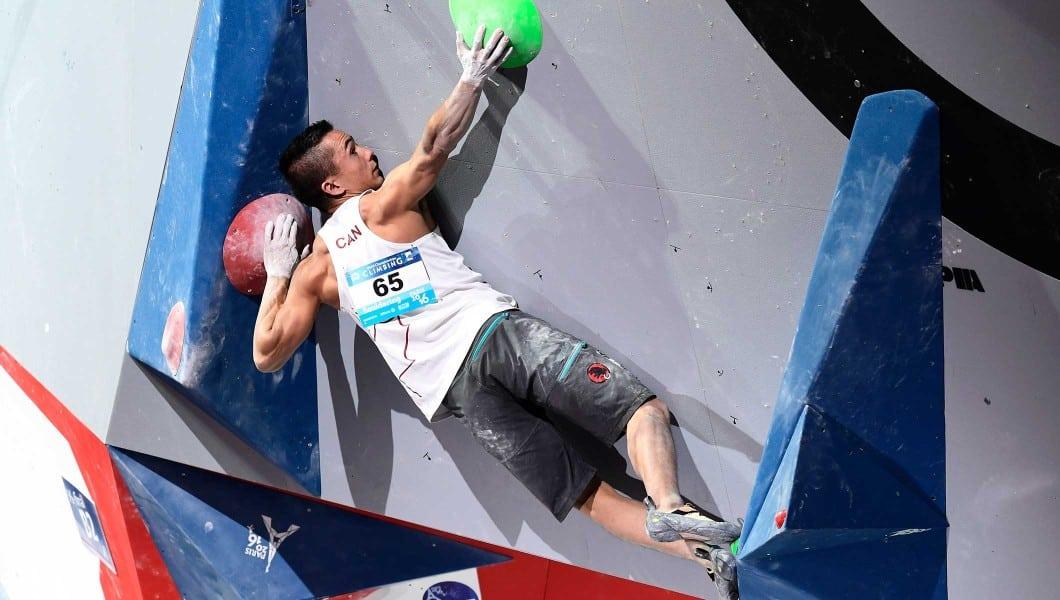 Sean McColl escalada esportiva