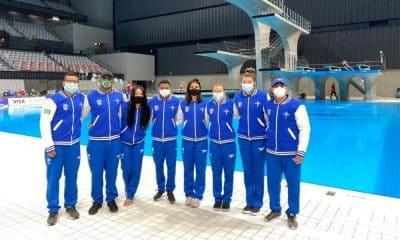 Seleção brasileira na Copa do Mundo de saltos ornamentais, que será o pré-olímpico da modalidade