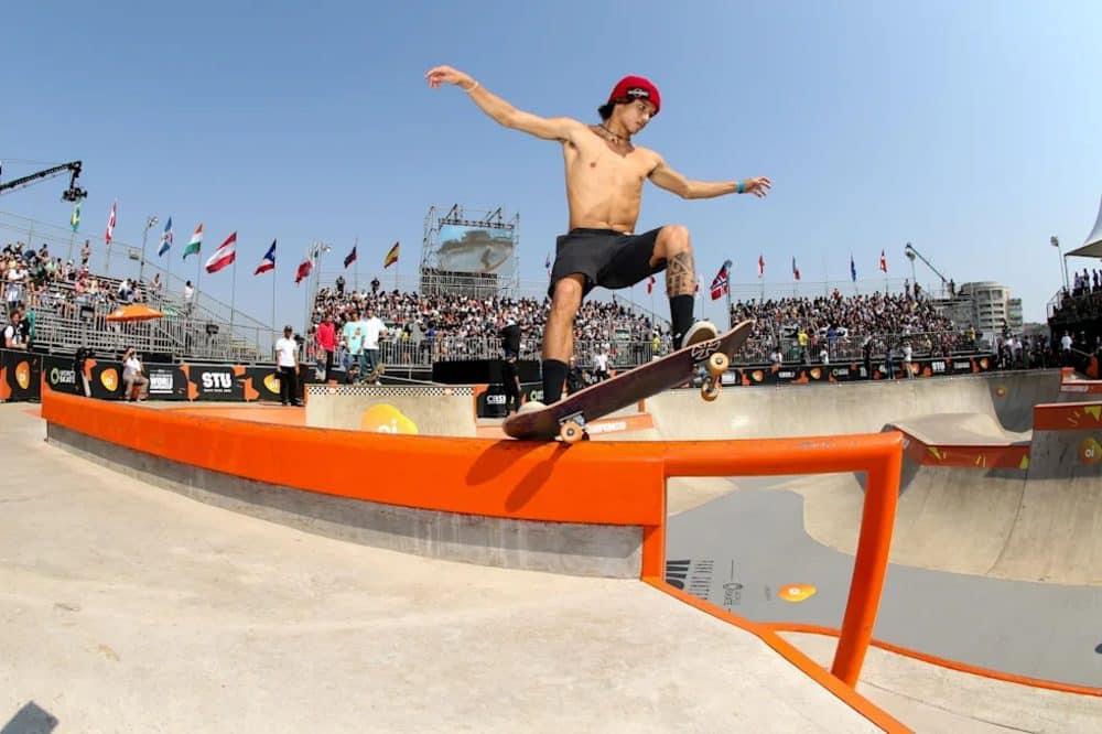 Heimana Reynolds  Skate park masculino