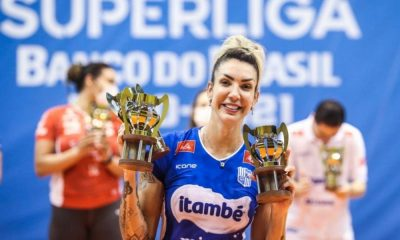 Thaisa MVP da Superliga de vôlei feminino