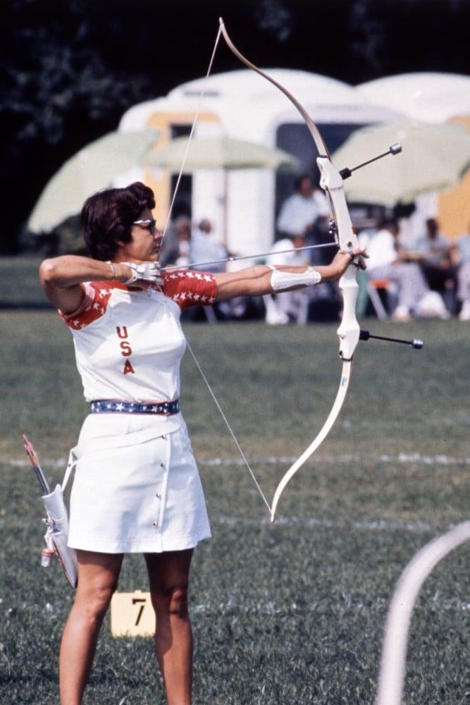 Doreen Wilber Individual feminino Tiro com  arco Reprodução/AP