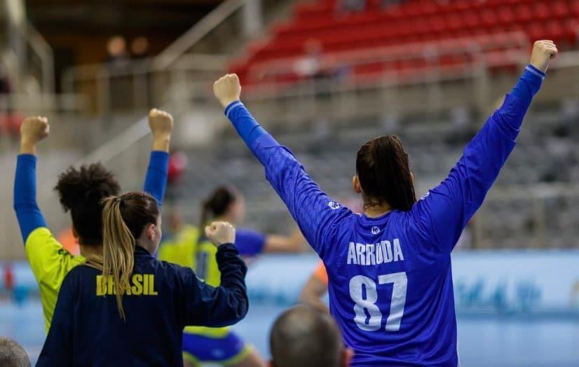 Renata Arruda - seleção feminina de handebol -  Olimpíada de Tóquio 2020