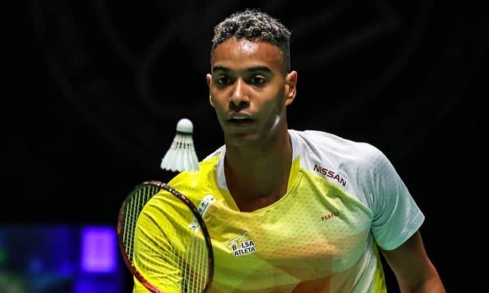 Ygor Coelho Campeonato Pan-americano de badminton Guatemala individual masculino