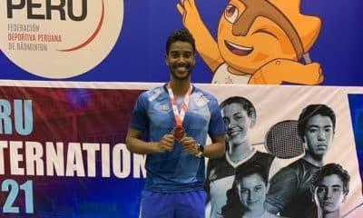 Ygor Coelho medalha de prata Peru International