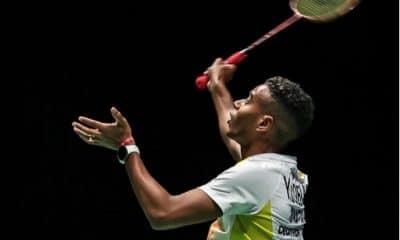 Ygor Coelho semifinal Peru International de badminton