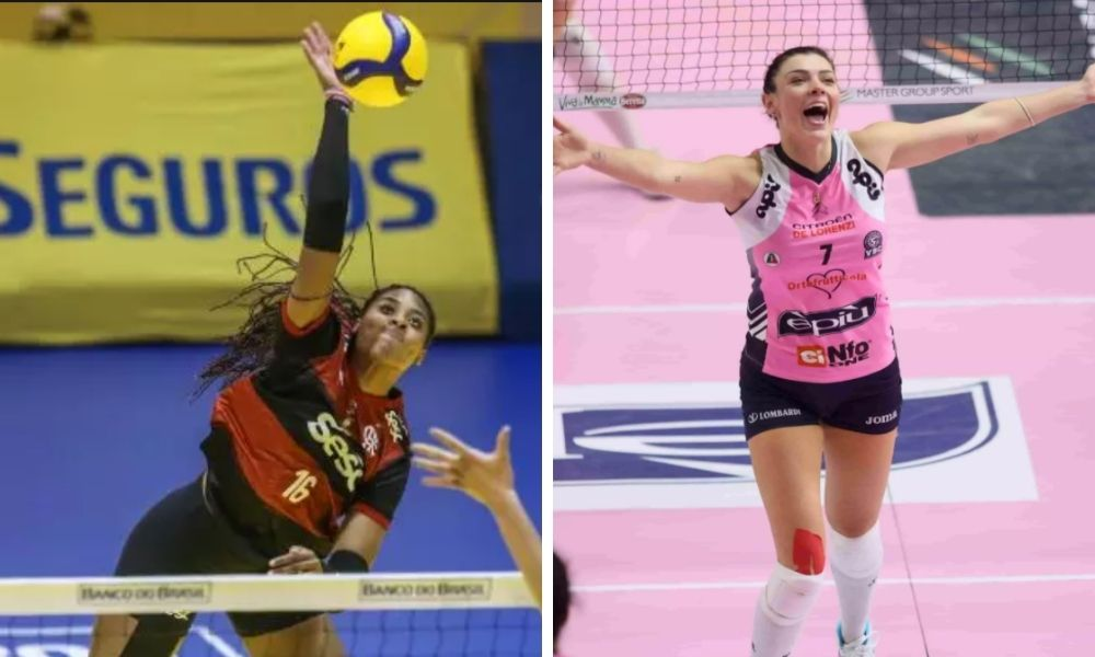 ana cristina e rosamaria são novidades na primeira convocação da seleção brasileira de vôlei na primeira convocação no ano olímpico
