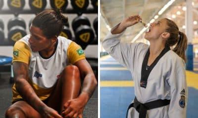 ana marcela cunha e milena titoneli a 100 dias dos Jogos Olímpicos de Tóquio