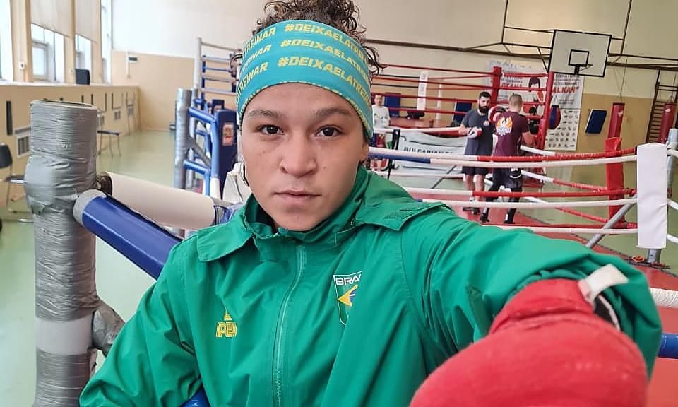 Bia Ferreira embaixadora Mundial Júnior boxe