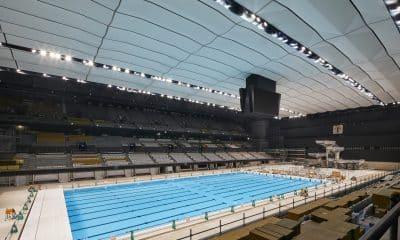centro aquático Tóquio 2020